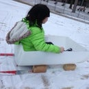 Ski Sled for Young Kids