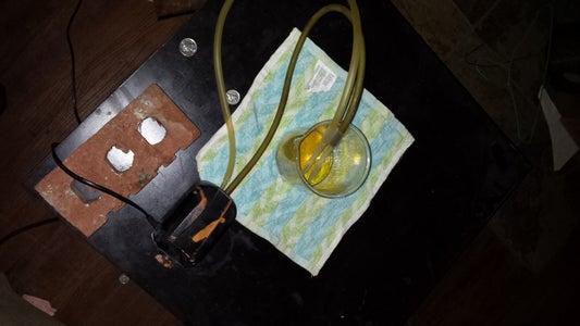 Final Steps Setup for Aroma Therapy.