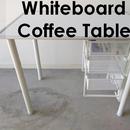Whiteboard Study Table - Ikea Hack