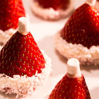 Fruit Bouquets' How to Make Santa Hat Strawberries