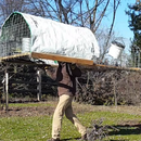 Free Chicken Tractor Coop: the Chicken Canoe