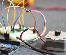 Run a Stepper Motor with an Arduino
