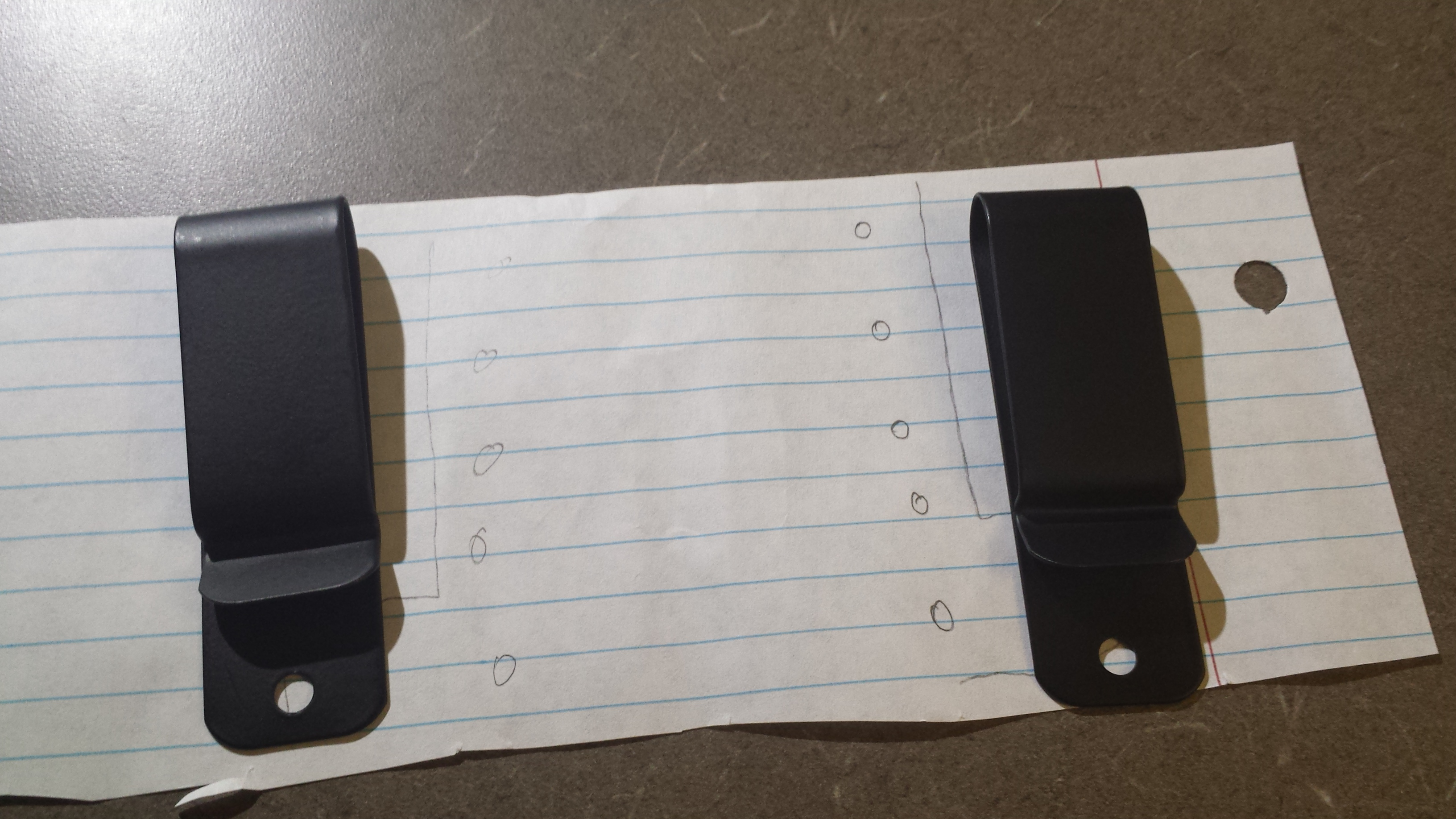 Picture of Forming the Holster