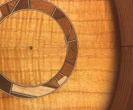 Scrap Wood Ukulele Mosic Rosette