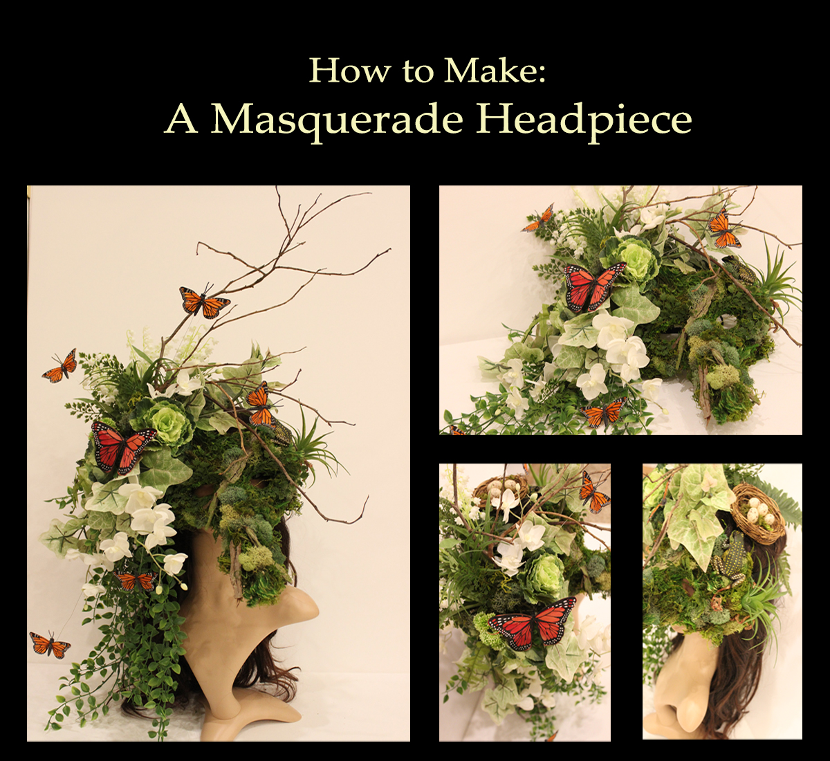 Picture of How to Make: a Masquerade Headpiece