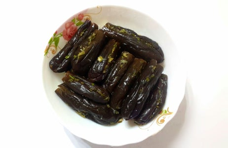 Eggplant Pickles Appetiser