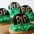 Fanta Tombstone Cupcakes!