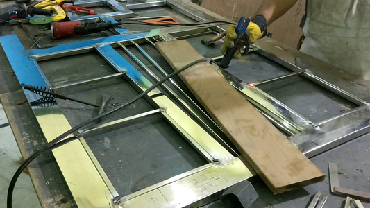 Welding the Decorative Parts.