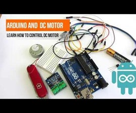 DC motors and arduino - ways of controlling