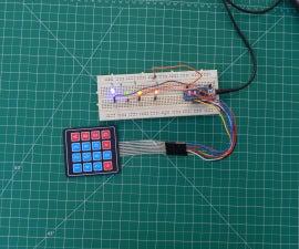 Arduino 4x4 Matrix Keypad