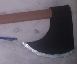 Quick Fake Axe for Your Costume Party
