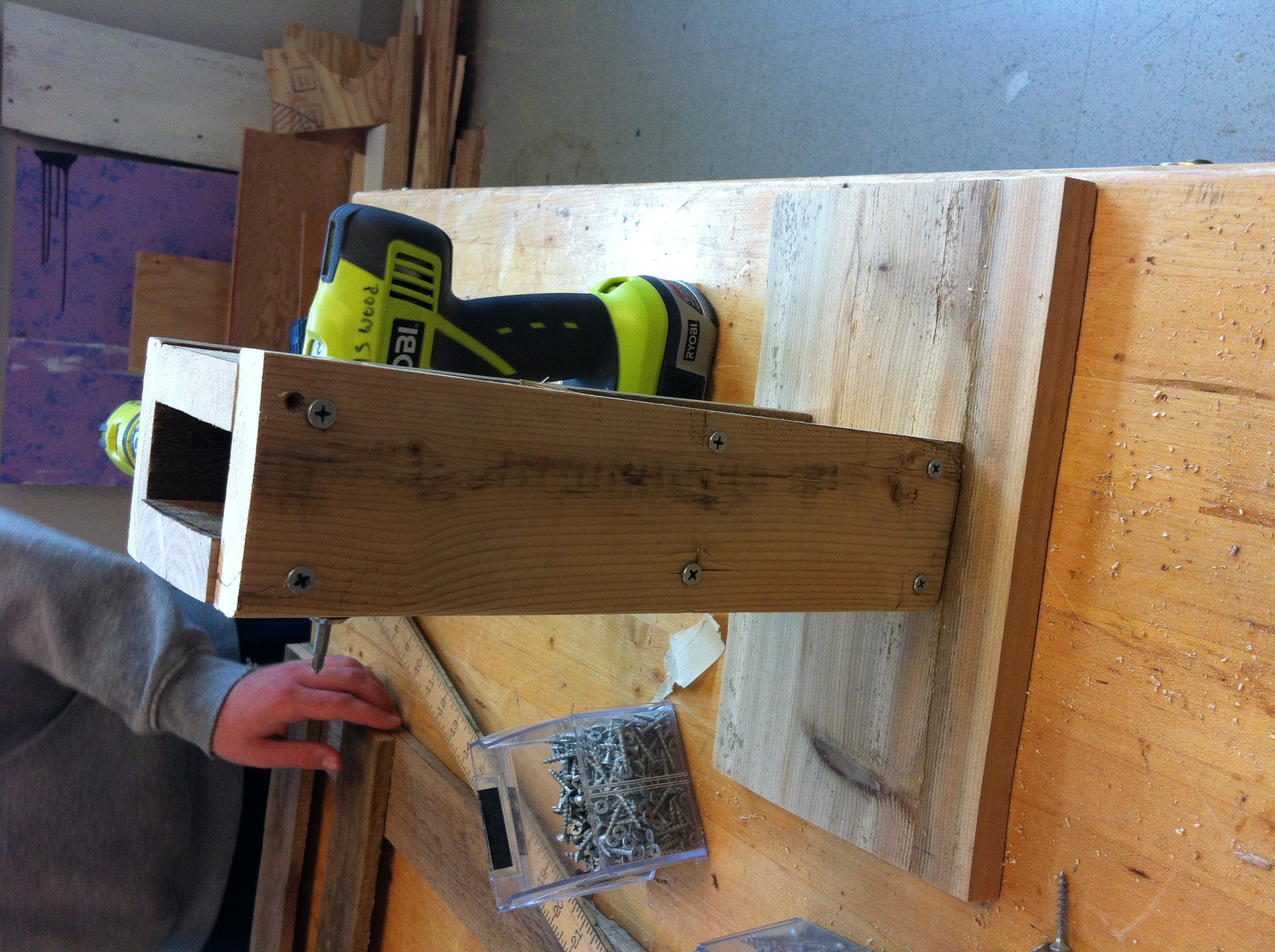 Picture of Attaching the Stand to the Base