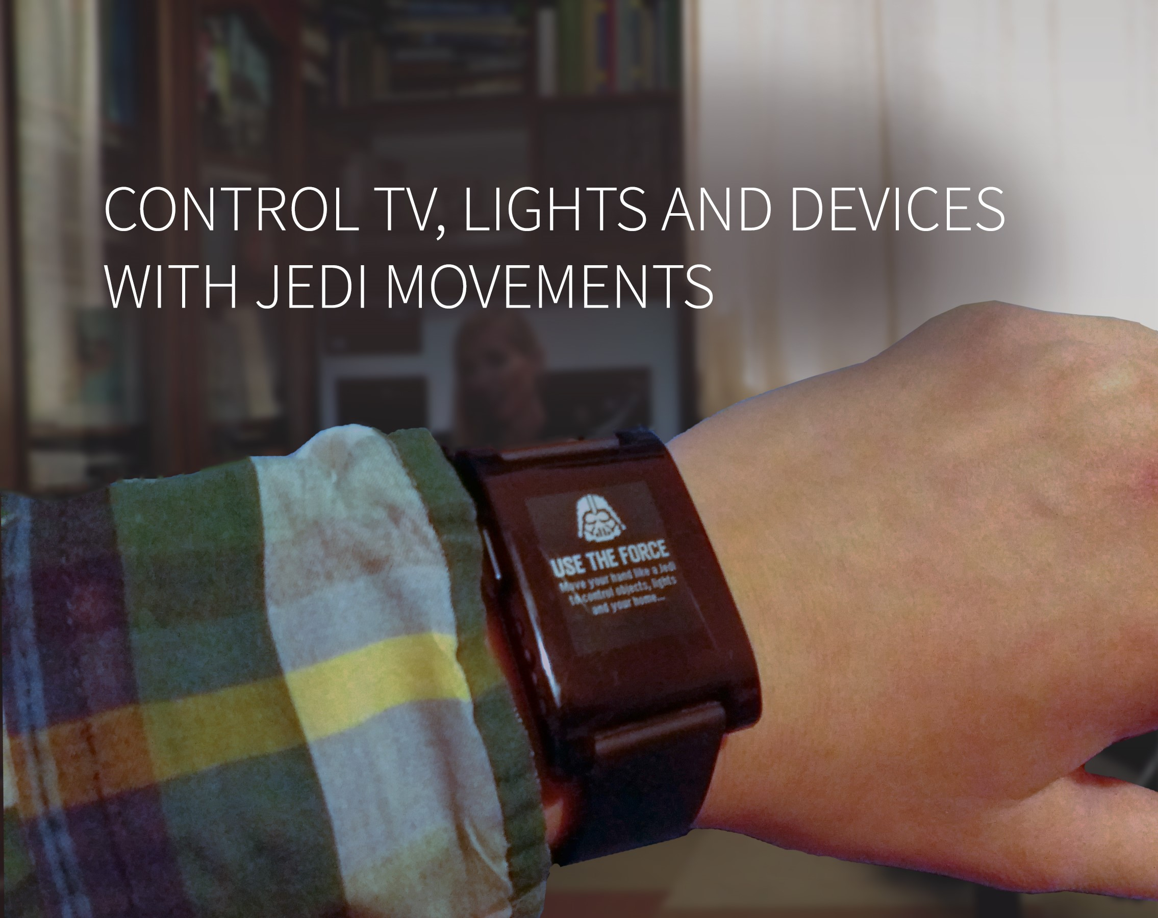 Picture of Jedi Force Gestures Based Home Automation (with Smartwatch)
