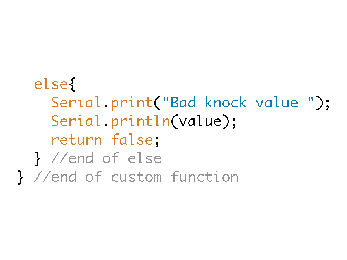 Picture of Function Returns FALSE