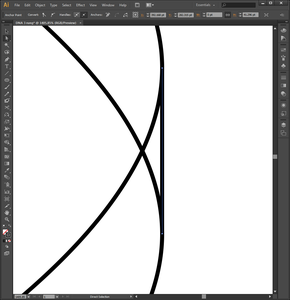 Drawing the Double Helix in Adobe Illustrator (Step 2)