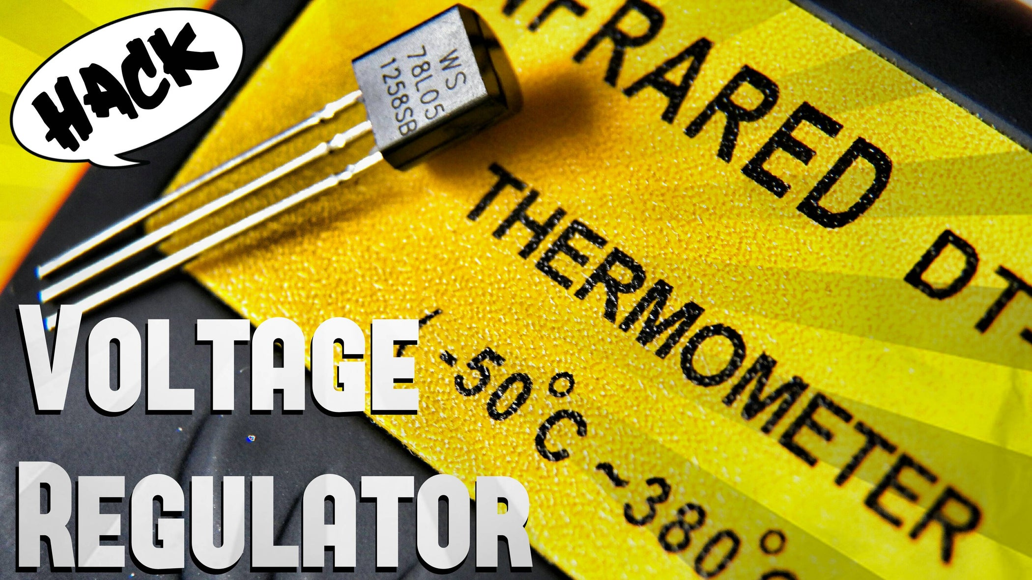 Hack Voltage Regulator 7805 Into Temperature Sensor 4 Steps Circuit This Will Act As Supply For
