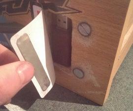 Drawer Panel Secret Compartment