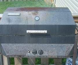 Gas Grill Renovation