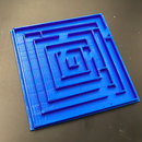 3D Printed Marble Mazes