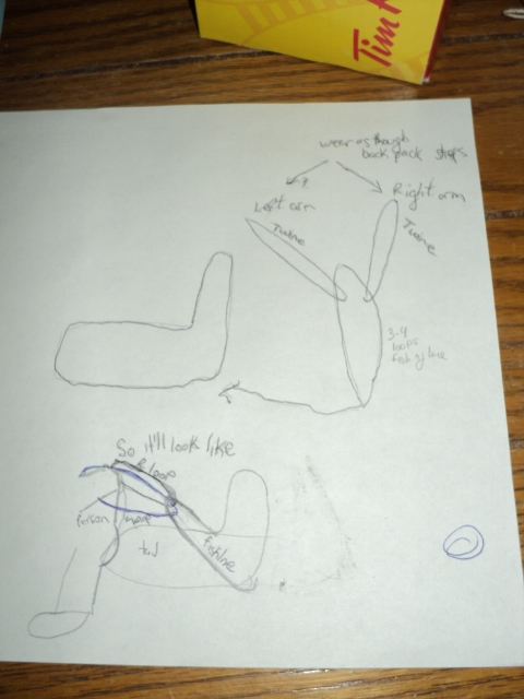 Picture of  Making the Tail!!!