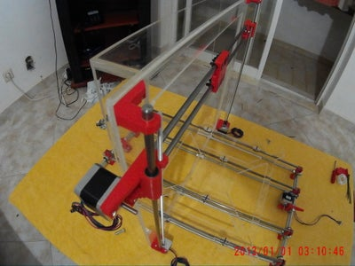 The Z Axis Guide and Transmission System