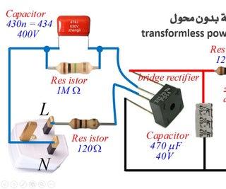 Converting Malfunctioning Bulbs Into LED Bulbs + Transformless Power Supply