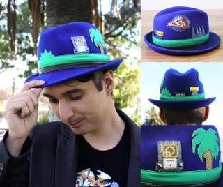 Diy Sonic The Hedgehog Hat 7 Steps With Pictures Instructables