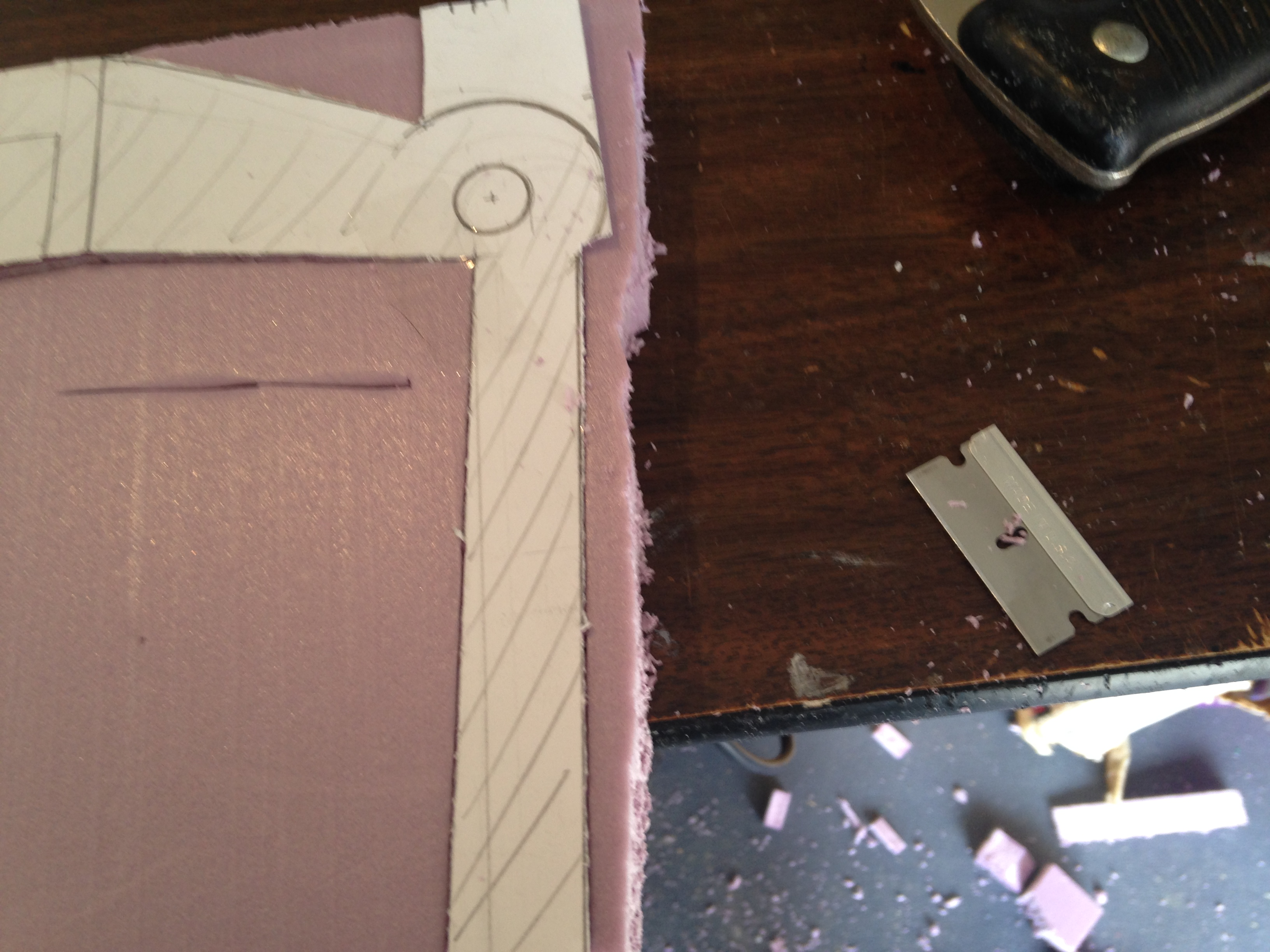 Picture of Cutting Out the Handle