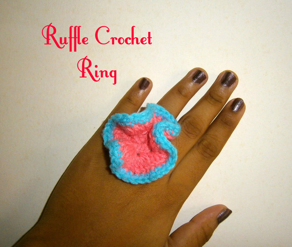 Picture of Ruffled Crochet RIng