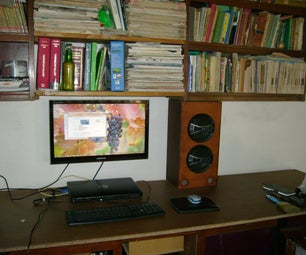 Hang Your LCD Without Breaking the Wall and Save Space