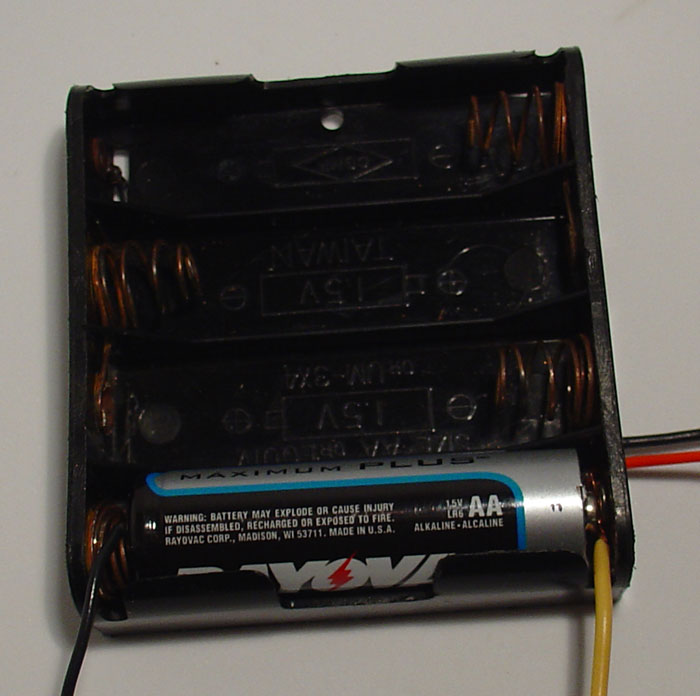 Picture of Power for the Motor