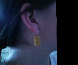 Gummy Bear Earrings