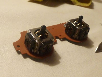 Prepare the Two-axis Potentiometer From the Controller