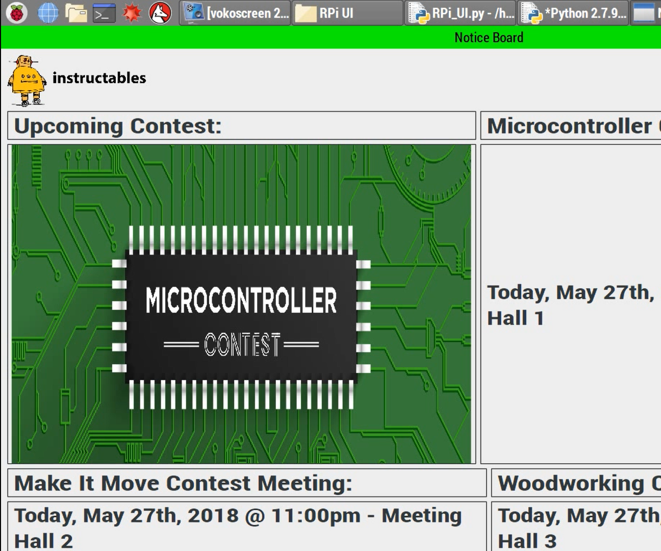 Digital Notice Board Using Raspberry Pi and MQTT Protocol: 8