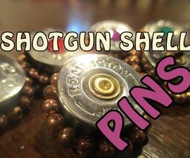 Shotgun Shell Jewelry Pins