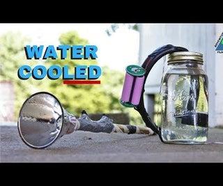 Water Cooled LED Flashlight
