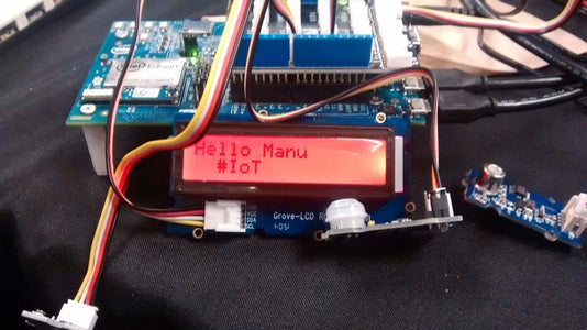 Edison-Smoke-Human-Detect System Using Twilio (Python)