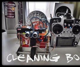 Vacuum Cleaning RC robot