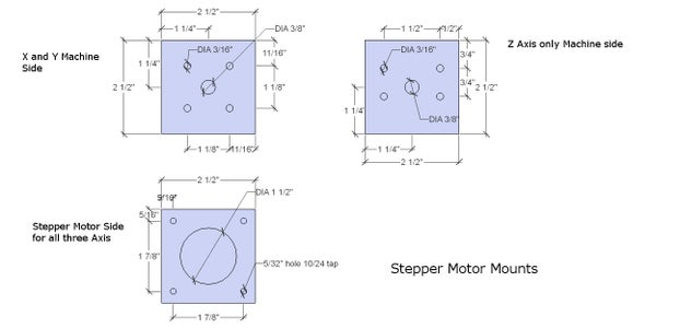​Couplers and Stepper Motor Mounts