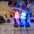 Color calibrating RGB LEDs with an Arduino