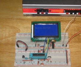 Testing a Graphic LCD Module
