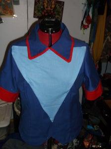 Shirt Details (Blue Triangles)