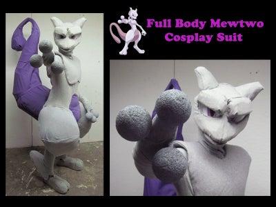 Full Body Mewtwo Costume