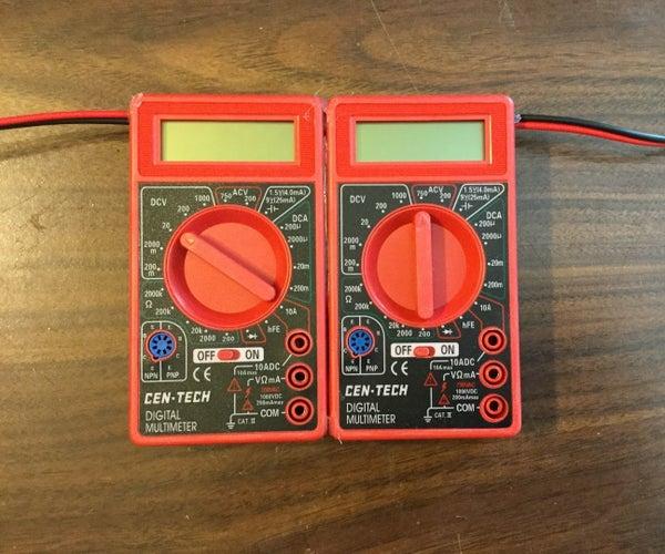 Wattmeter Using 2 Meters