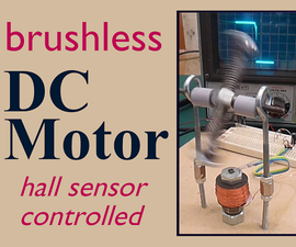 Brushless DC electric motor (with hall sensor)