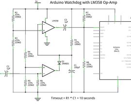 Arduino Watchdog with LM358 Op-Amp