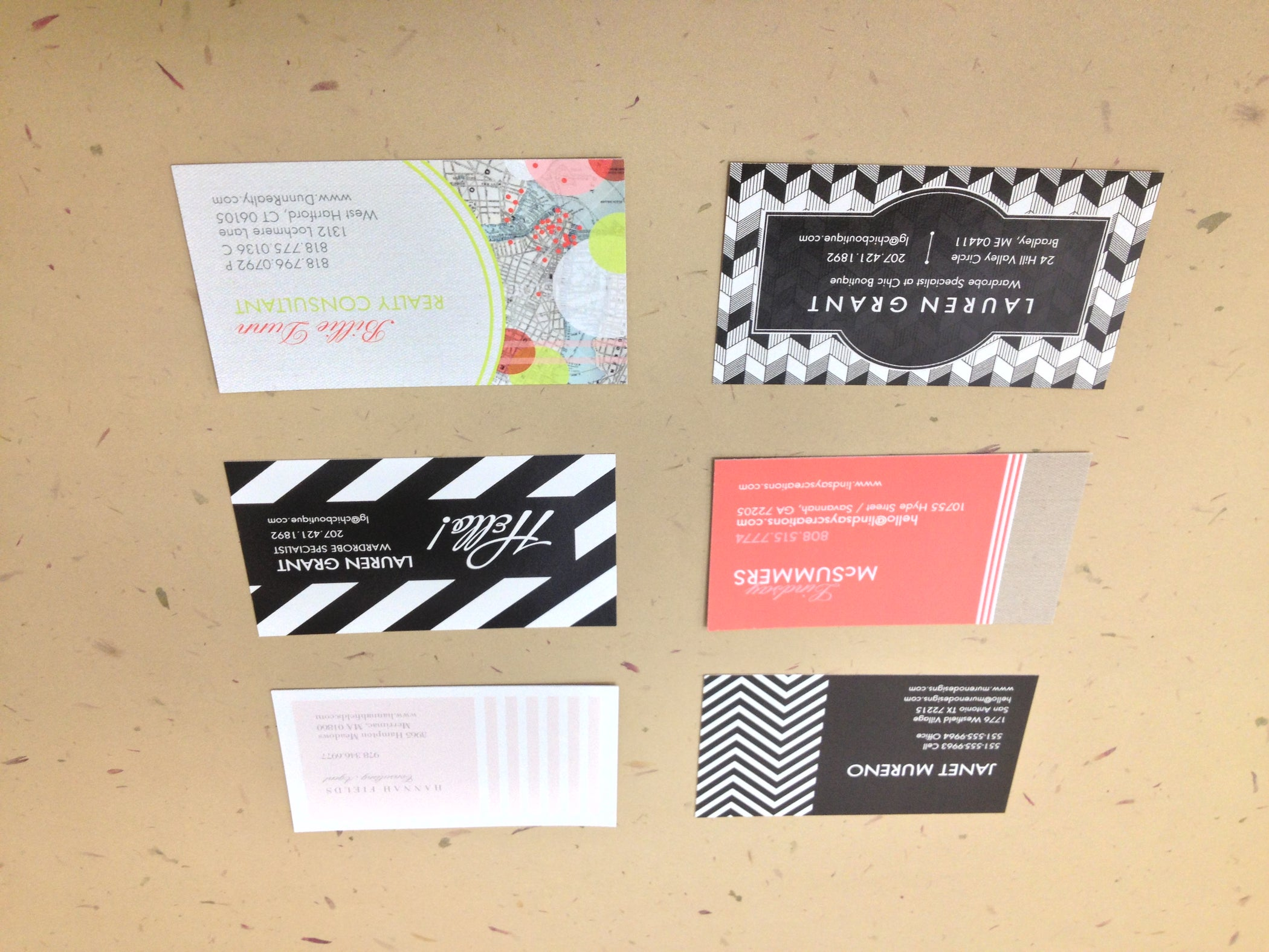 easy howto make a business card cube  12 steps