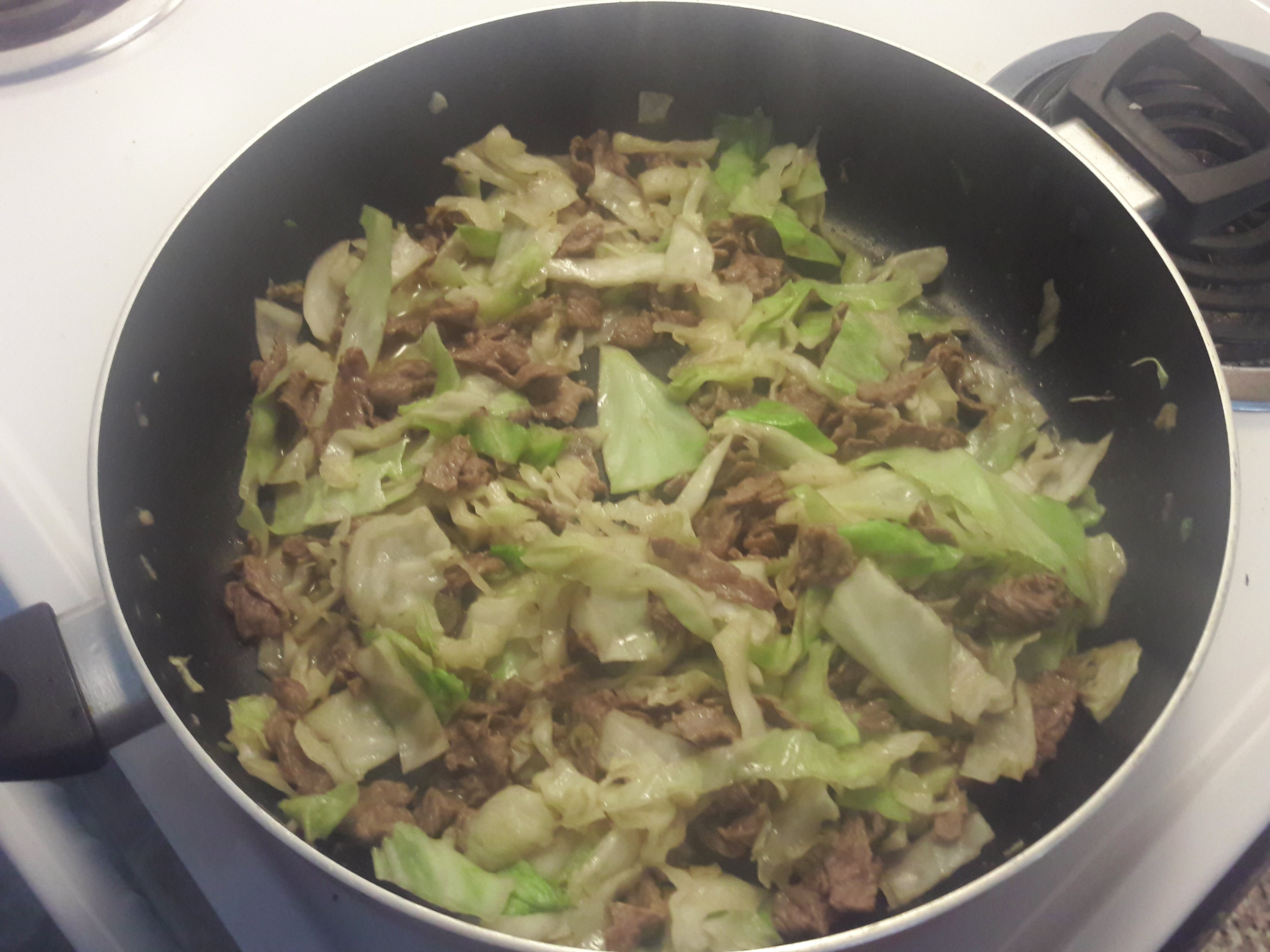 Picture of Easy Beef With Cabbage Recipe