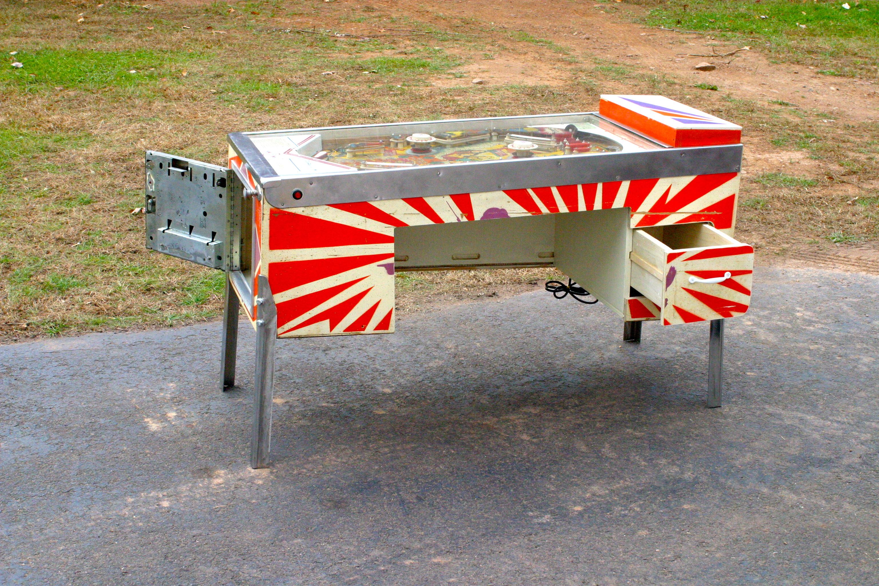 Picture of Pinball Machine Desk