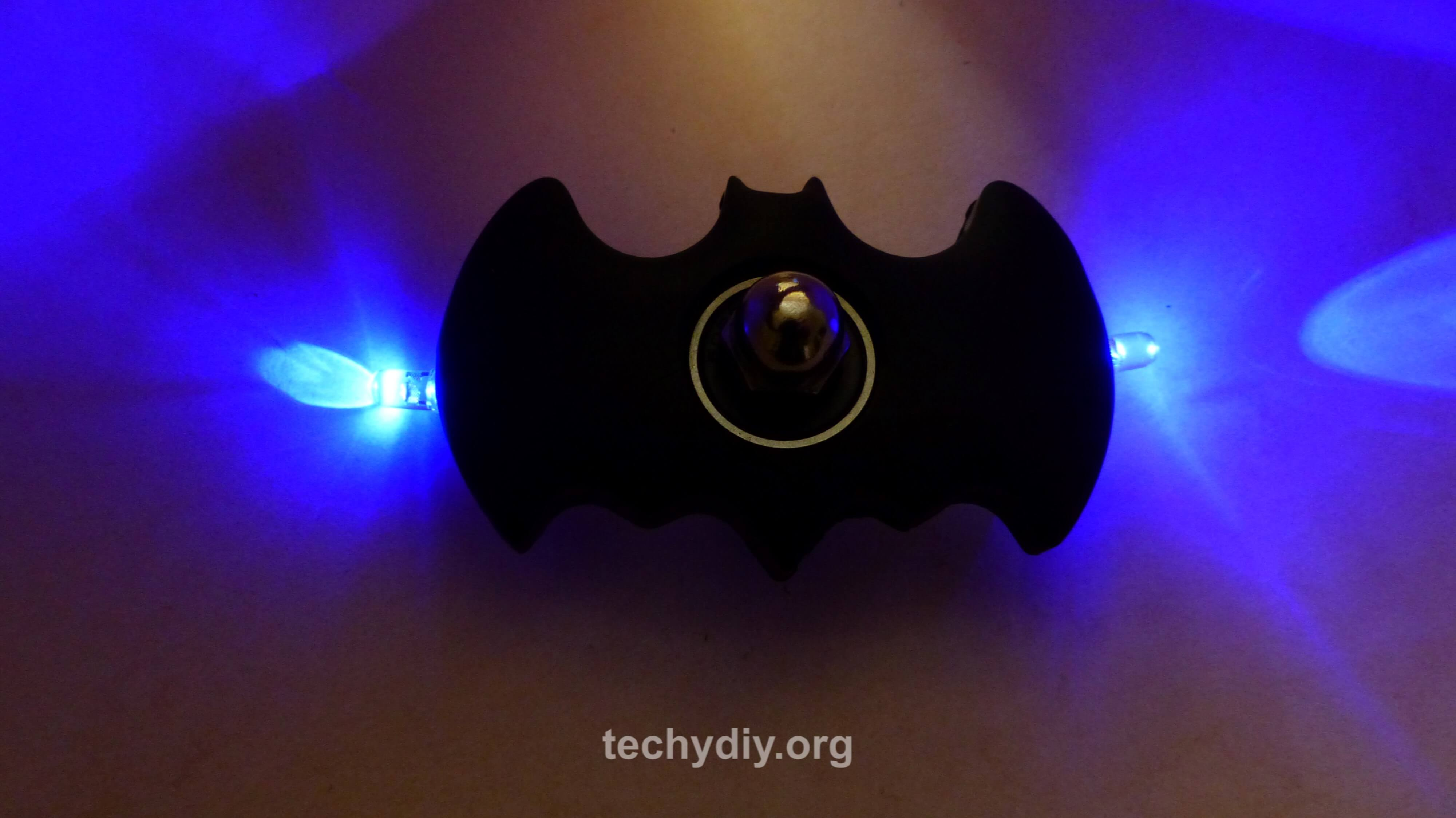 Picture of Batman Led Fidget Spinner